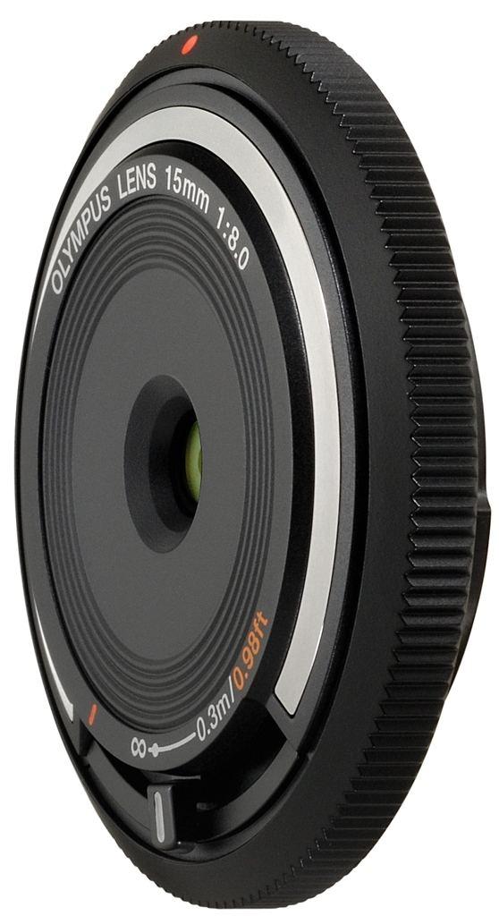 Olympus Body Cap Lens 15 mm 1:8,0 schwarz