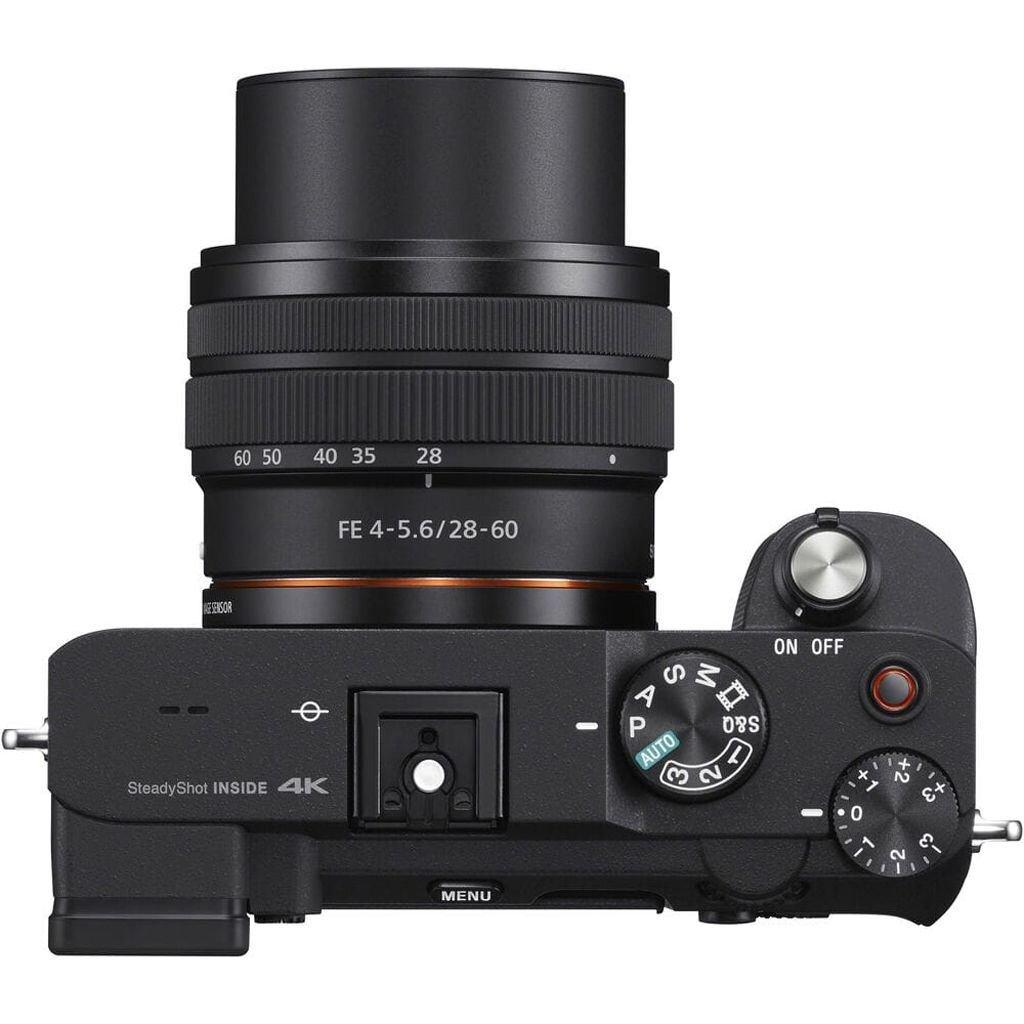 Sony alpha 7C (ILCE7CLB) schwarz inkl. FE 28-60mm 1:4-5,6 + Samyang AF 35mm 1:2,8 FE