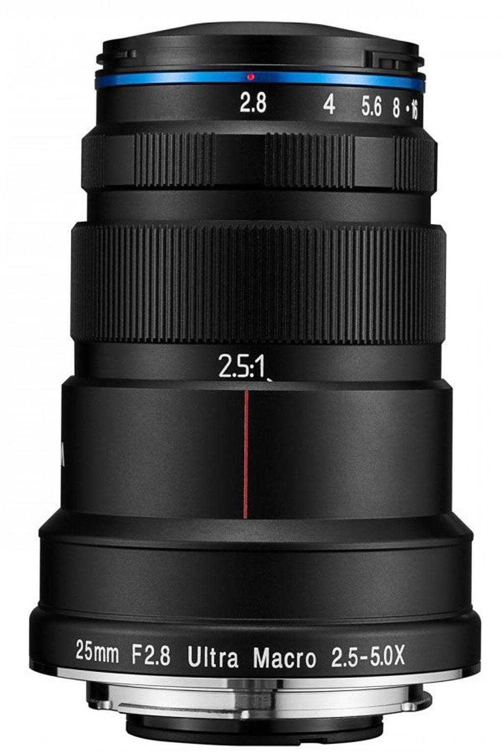 LAOWA 25mm 1:2,8 Ultra-Macro 2,5-5x für Pentax K