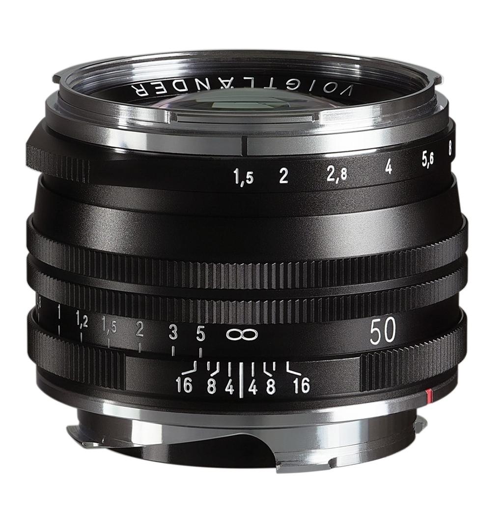 Voigtländer VM 50mm 1:1,5 Nokton S.C. asphärisch Leica M schwarz