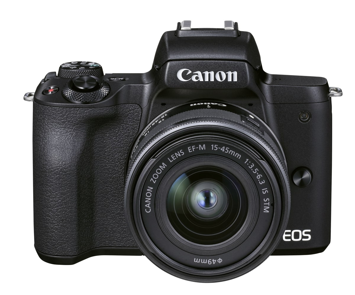 Canon EOS M50 II schwarz + EF-M 15-45 mm IS STM