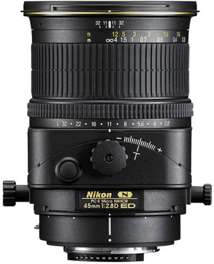 Nikon PC-E 45mm 1:2,8D ED inkl. 5-Jahre Nikon Garantieverlängerung