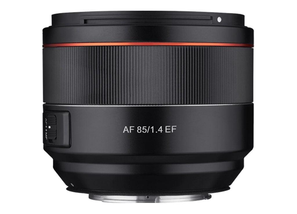 Samyang AF 85mm 1:1,4 für Canon EF