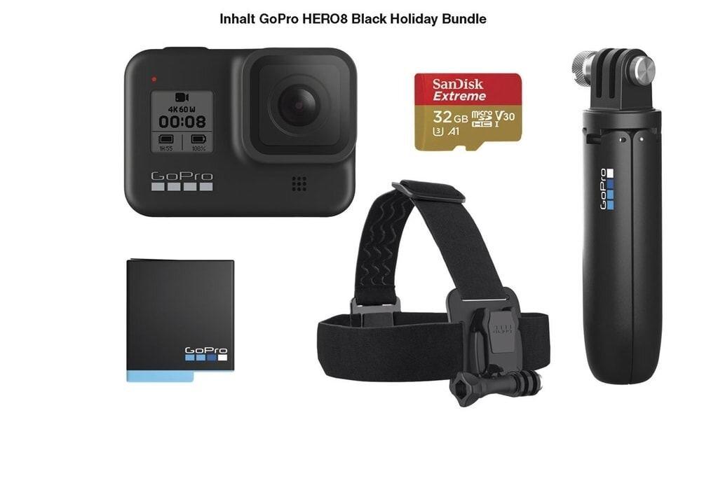GoPro Hero 8 Black Holiday Bundle Actioncam