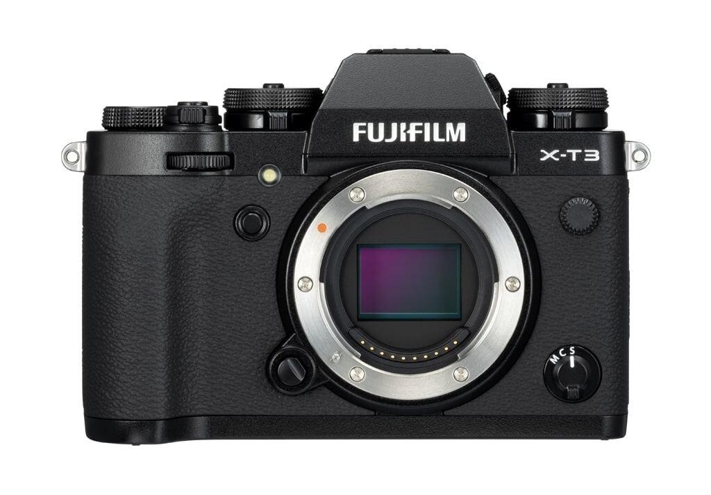 Fujifilm X-T3 schwarz Gehäuse - Demo