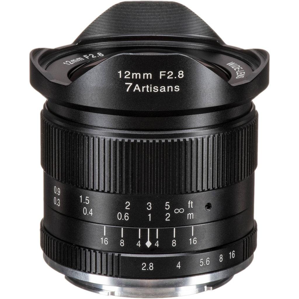 7Artisans 12mm 1:2,8 für Sony E schwarz
