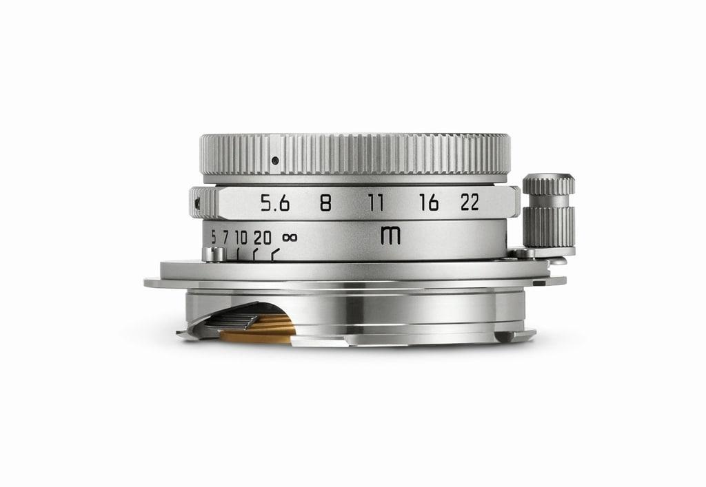 LEICA SUMMARON-M 1:5.6/28mm, silbern verchromt 11695