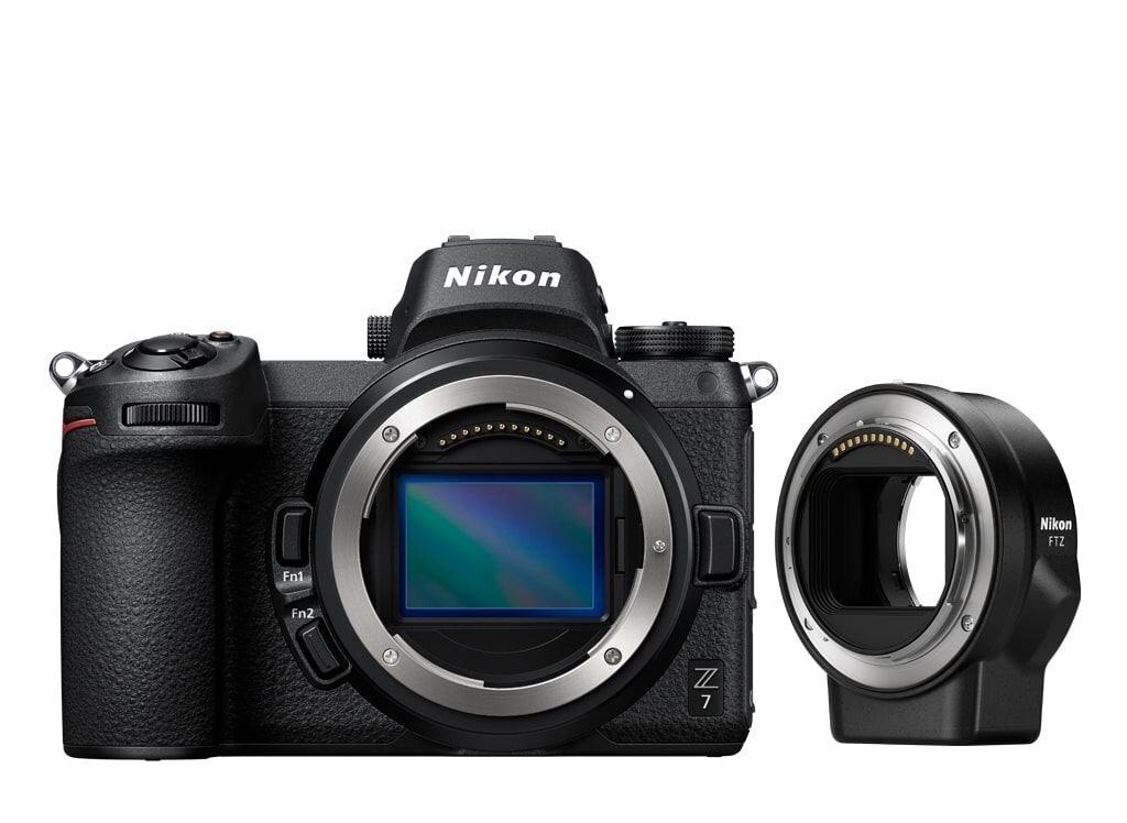Nikon Z7 Gehäuse + FTZ Objektivadapter