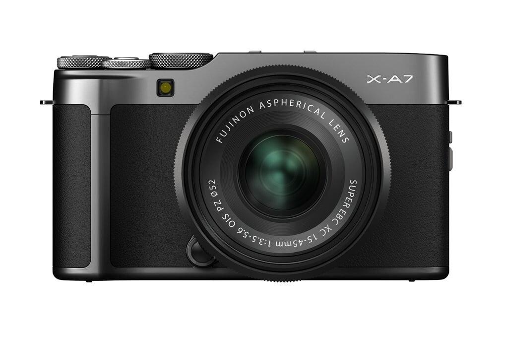 Fujifilm X-A7 dunkelsilber inkl. XC 15-45mm 1:3.5-5.6 OIS PZ