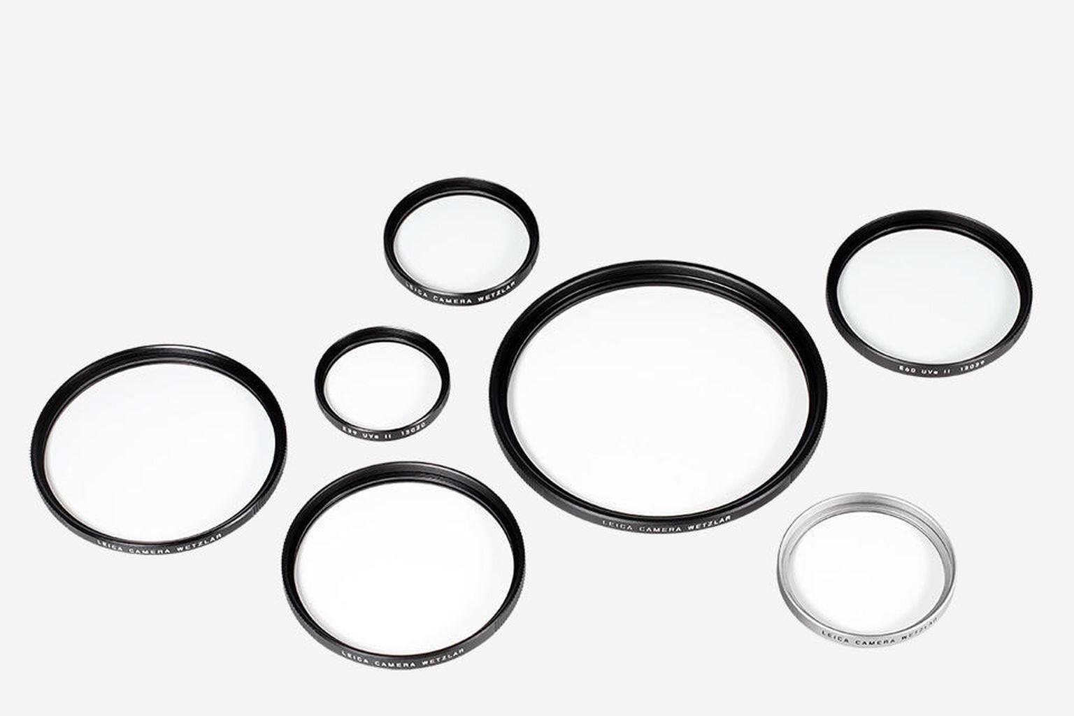 Leica Filter UV/IR E46 schwarz 13411
