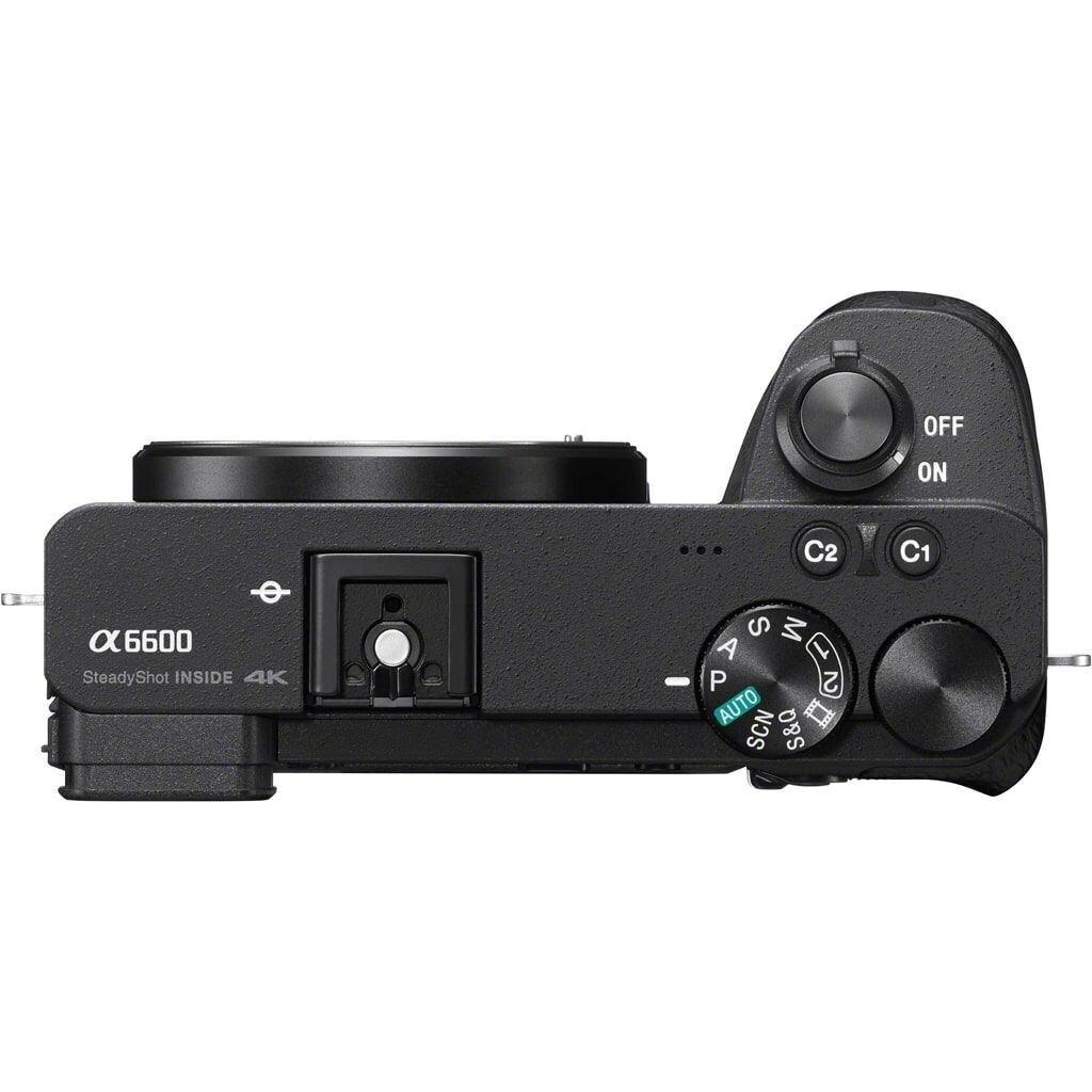 Sony alpha 6600 (ILCE6600B) + DJI Ronin SC Einhandgimbal Stabilisierungssystem