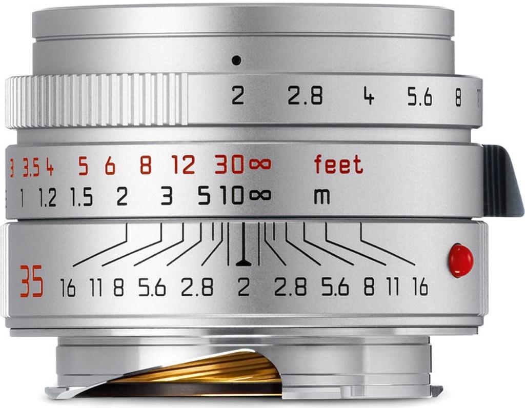 LEICA SUMMICRON-M 2/35mm ASPH., silbern eloxiert 11674