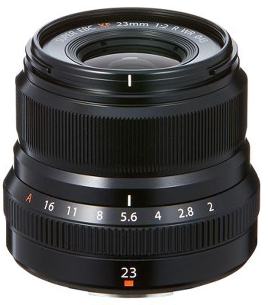 Fujifilm XF 23mm 1:2,0 R WR schwarz