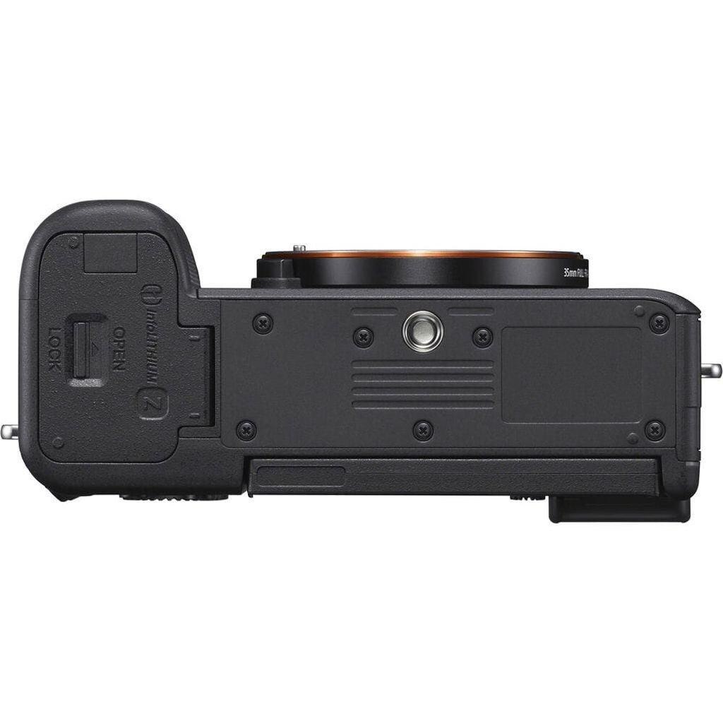 Sony Alpha 7C (ILCE7CB) + Sony GP-VPT2BT Handgriff + Sony ECM-W2BT Mikrofon