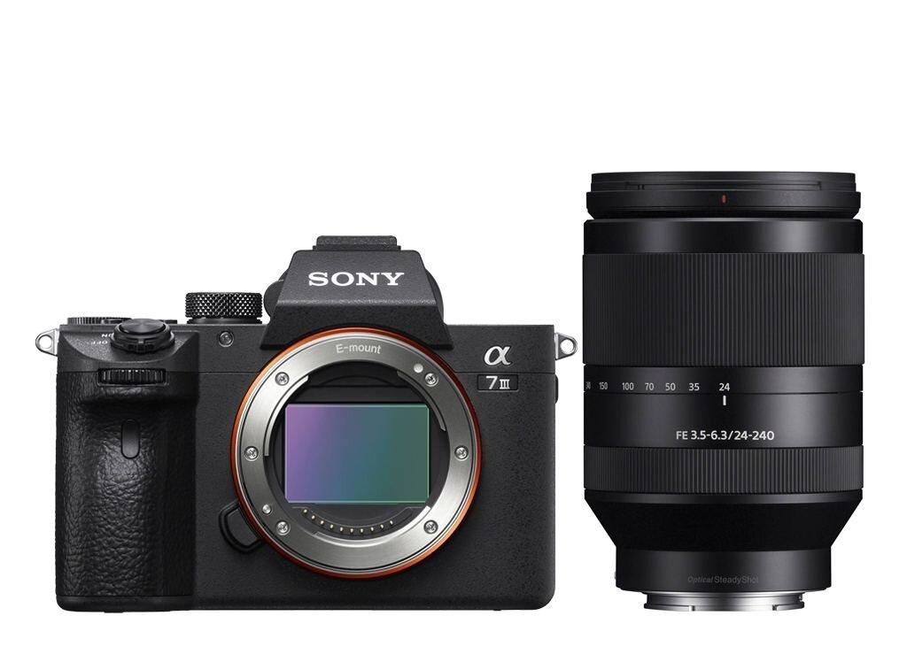 Sony Alpha 7 III (ILCE7M3B) + SEL FE 24-240 mm 1:3,5-6,3 OSS (SEL24240)