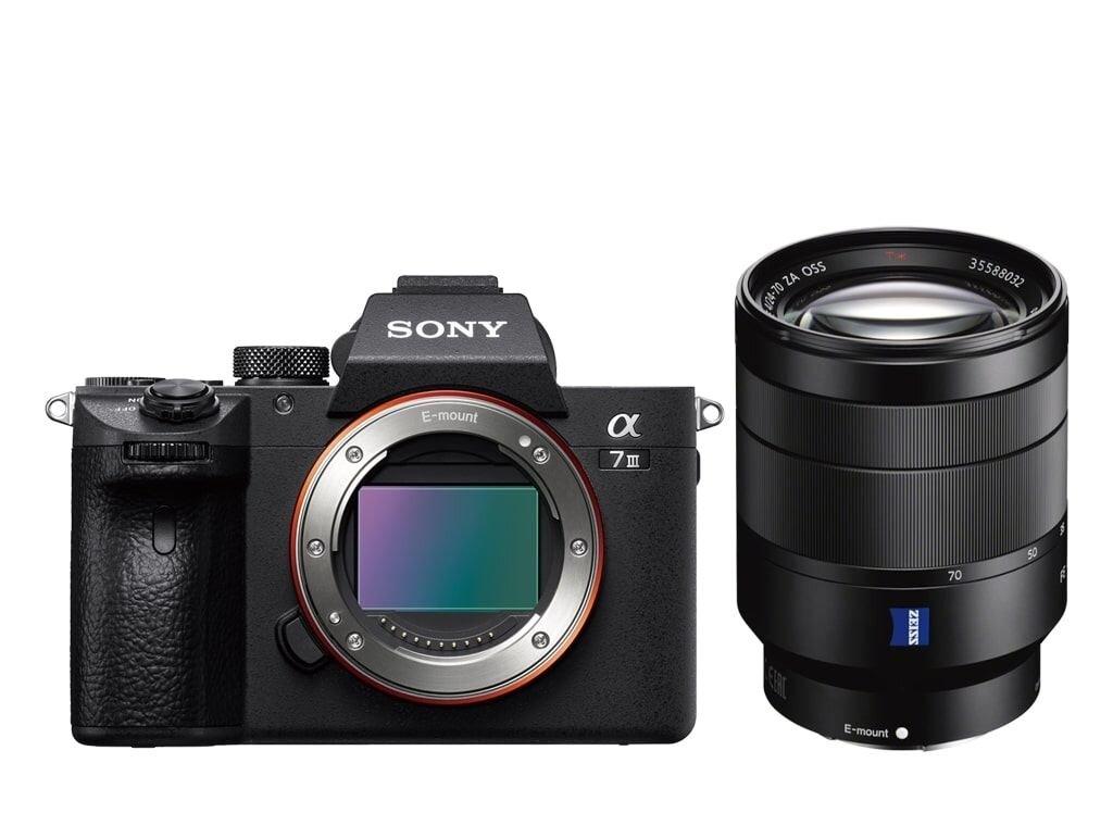Sony alpha 7 III (ILCE7M3B) + SEL FE 24-70mm 1:4 ZA ZEISS Vario-Tessar T* OSS (SEL2470Z)