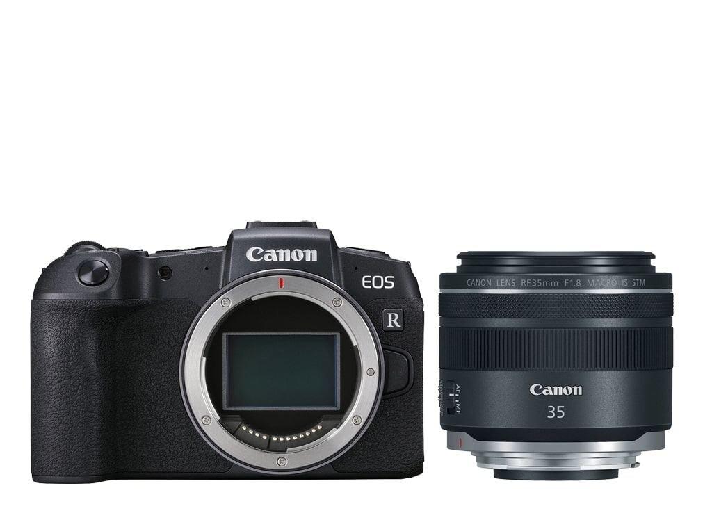 Canon EOS RP inkl. RF 35mm 1:1,8 Macro IS STM + EOS Plus X 50€ Sparvorteil