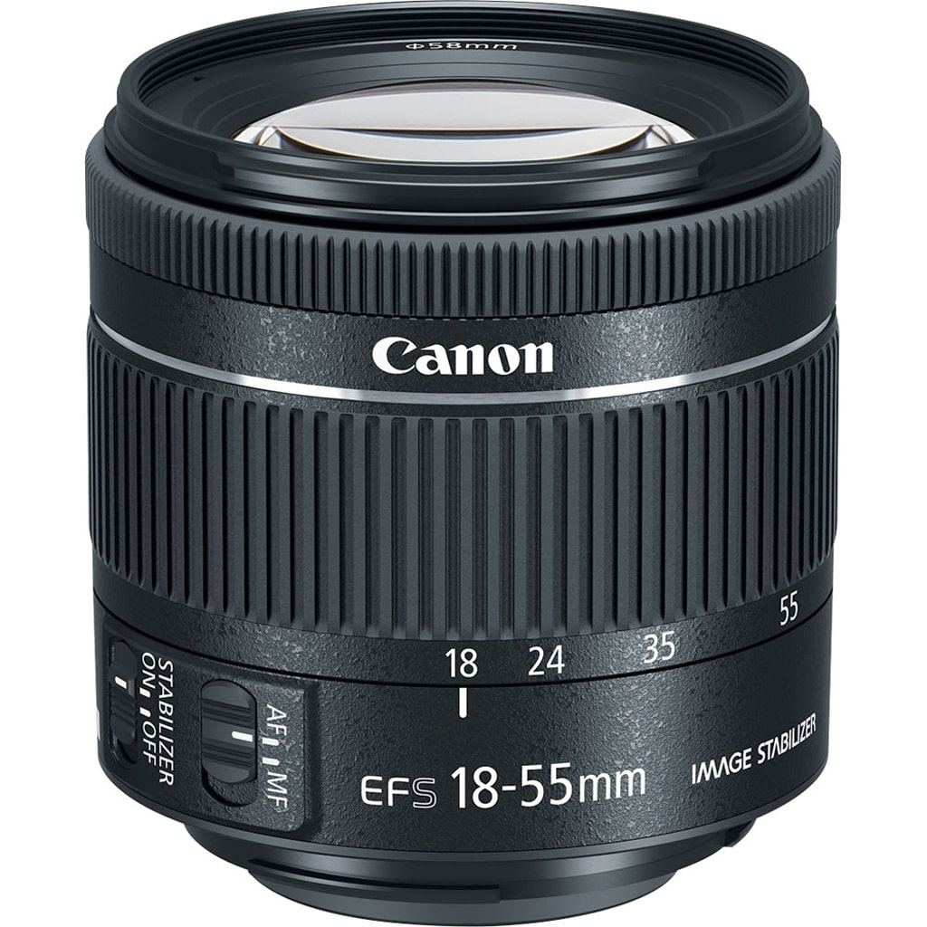 Canon EF-S 18-55mm 1:4-5,6 IS STM aus Set