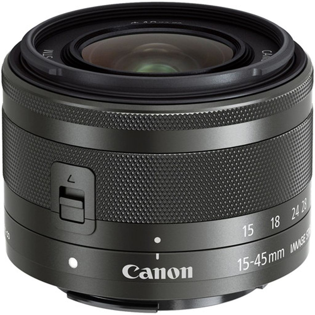 Canon EF-M 15-45mm 1:3,5-6,3 IS STM graphit grau