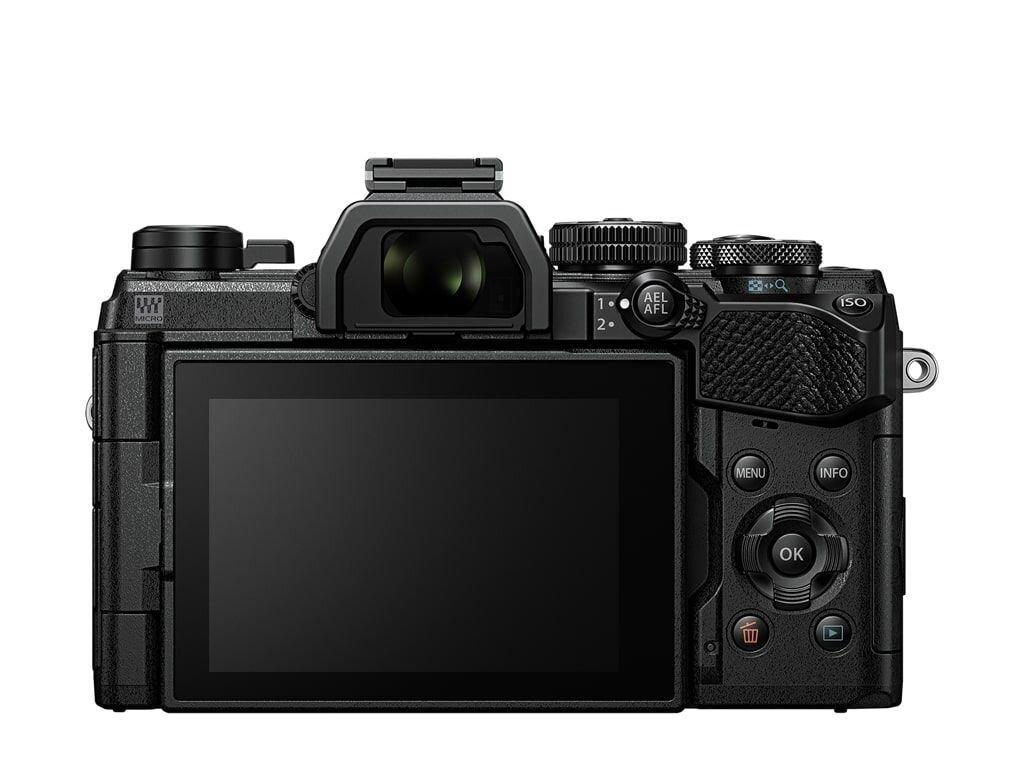 Olympus OM-D E-M5 Mark III schwarz + M.Zuiko Digital ED 12-200mm 1:3,5-6,3
