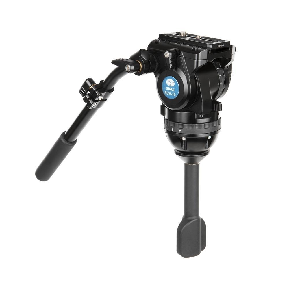 SIRUI BCH-10 Fluid Videoneiger / Videokopf, 75mm Halbkugel Aluminium