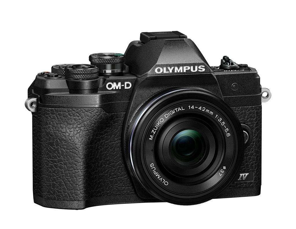 Olympus OM-D E-M10 Mark IV schwarz + M. Zuiko Dig. 14-42mm 1:3,5-5,6 EZ