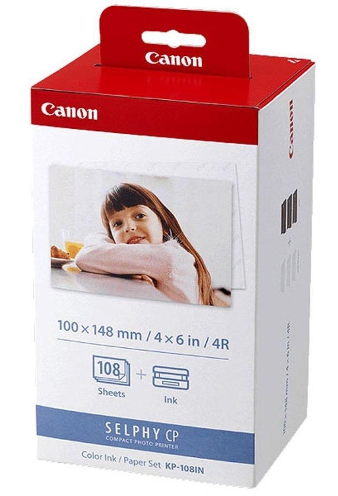 Canon KP-108 IN Papier + Farbband 10x15, 108 Ausd. (3x 36 Bl.)
