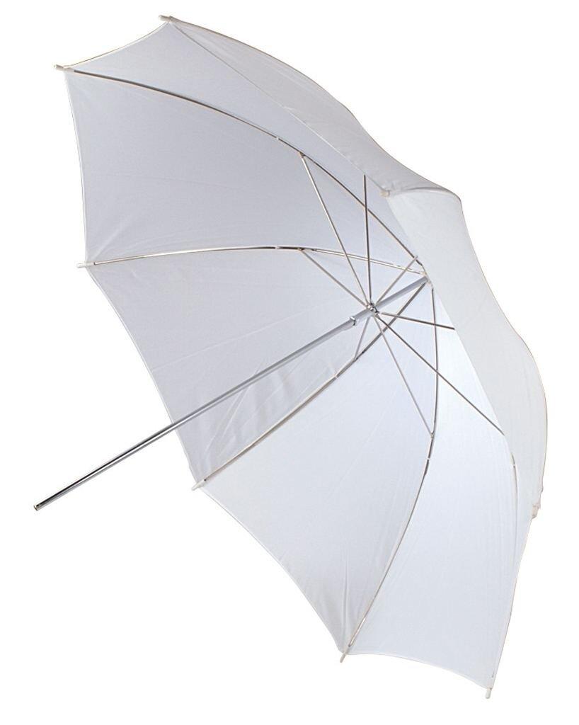 Helios Studioschirm 100cm, weiß/Durchlicht