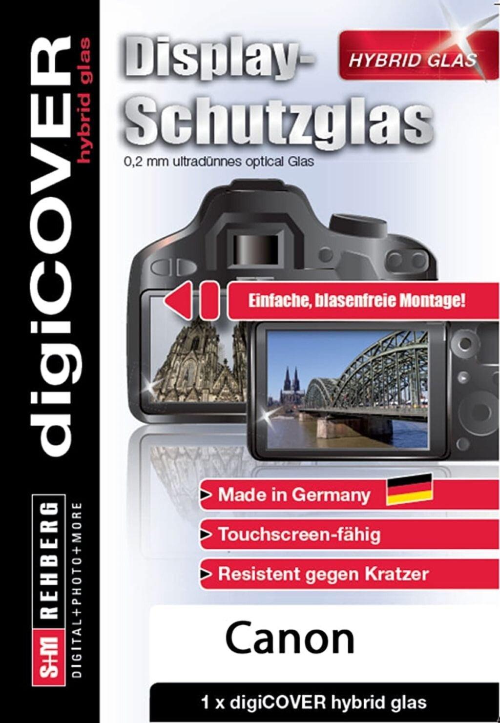 digiCOVER Display Schutzglas f. Canon EOS R