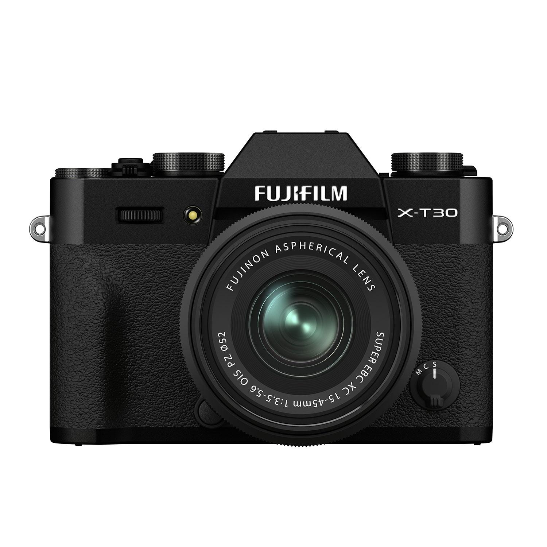 Fujifilm X-T30 II schwarz + XC 15-45mm 1:3,5-5,6 OIS PZ