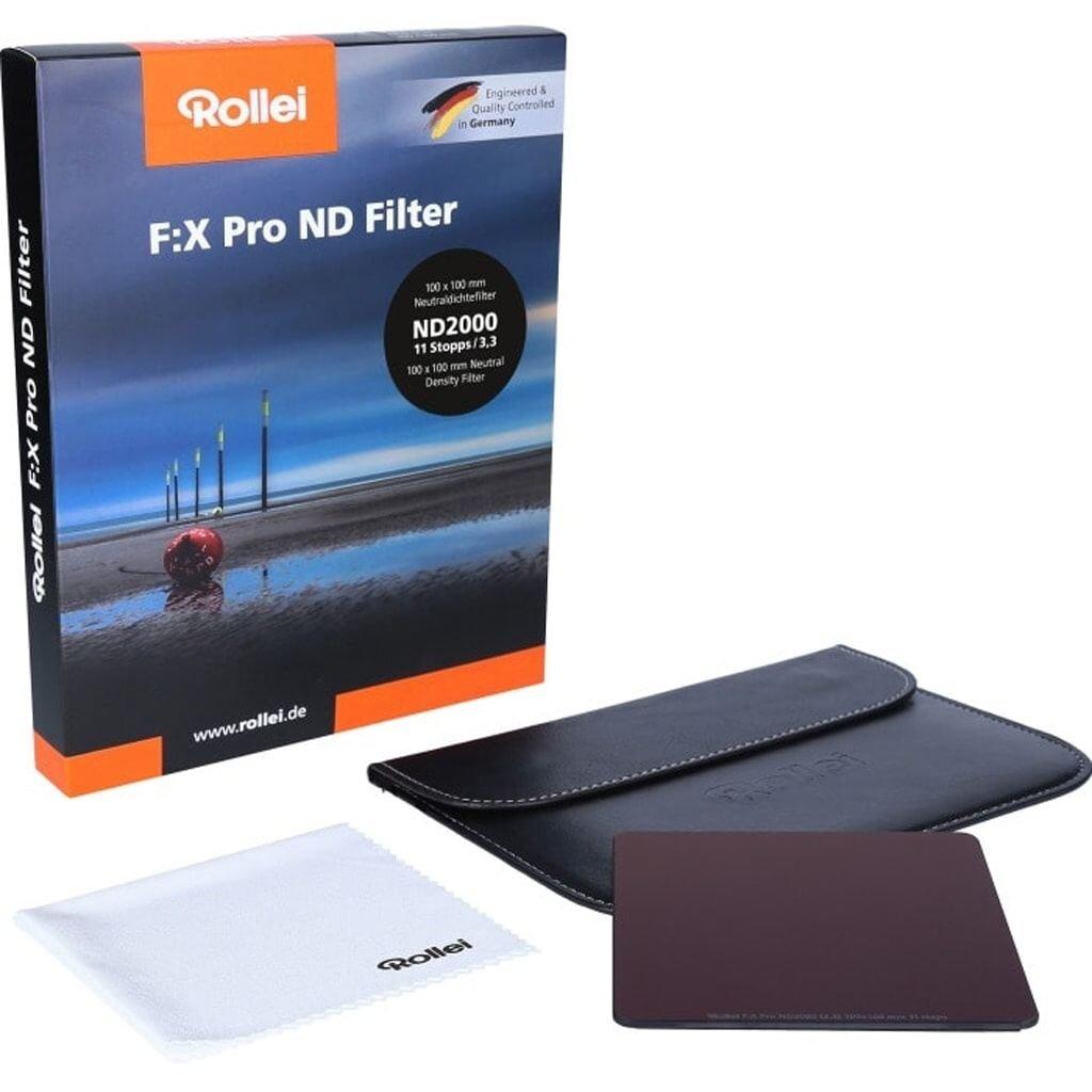 Rollei F:X Pro ND2000 Graufilter 100mm Rechteckfilter