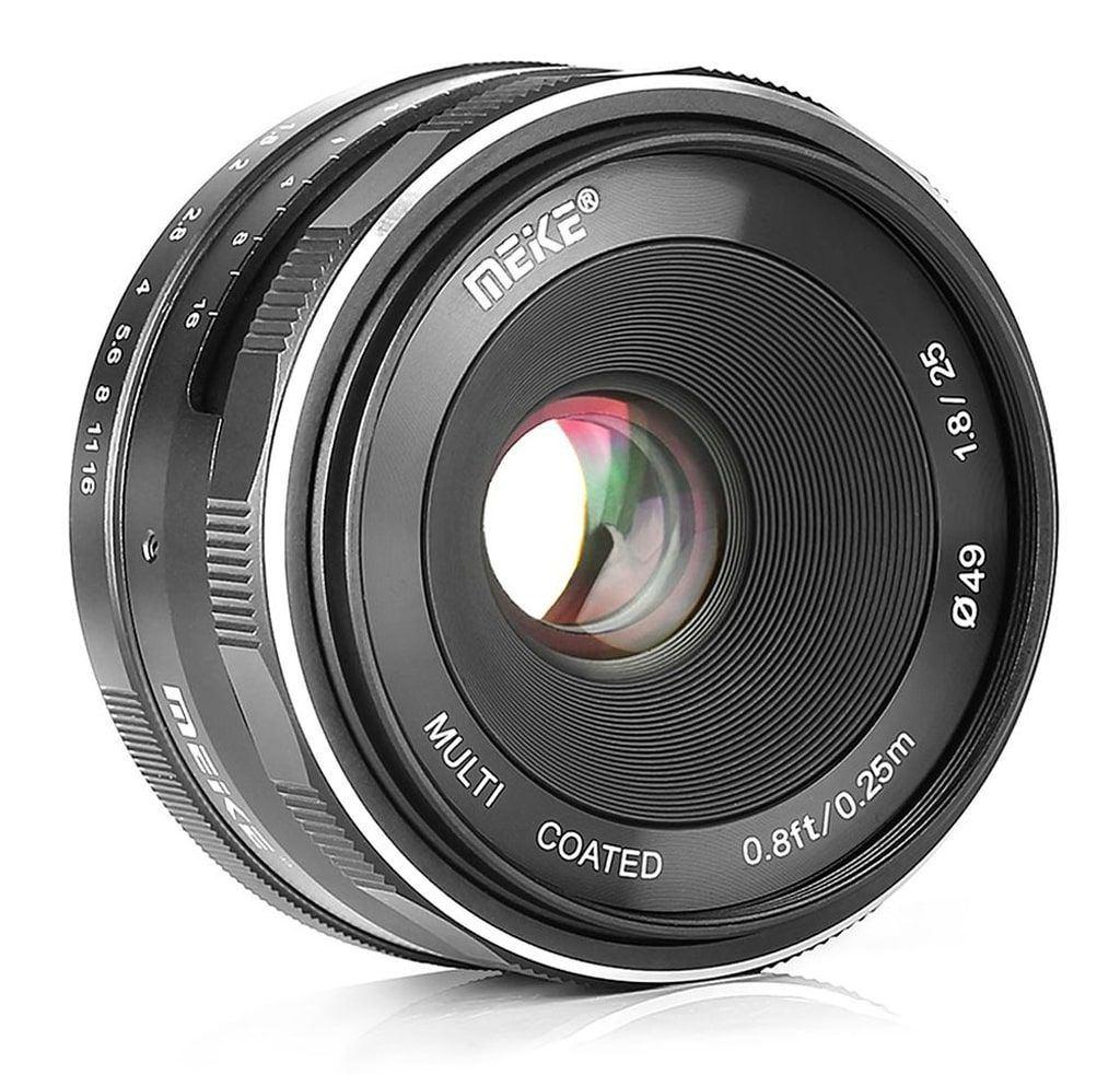 Meike 25mm 1:1,8 für Canon EFM