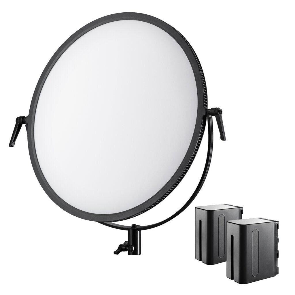 Walimex Soft LED 700 Round Bi Color Set 1
