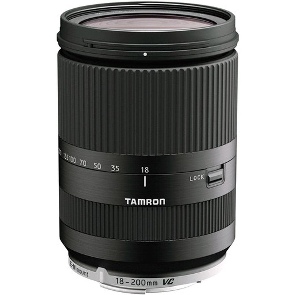 Tamron 18-200mm 1:3,5-6,3 Di III VC schwarz für Canon EOS M-Mount