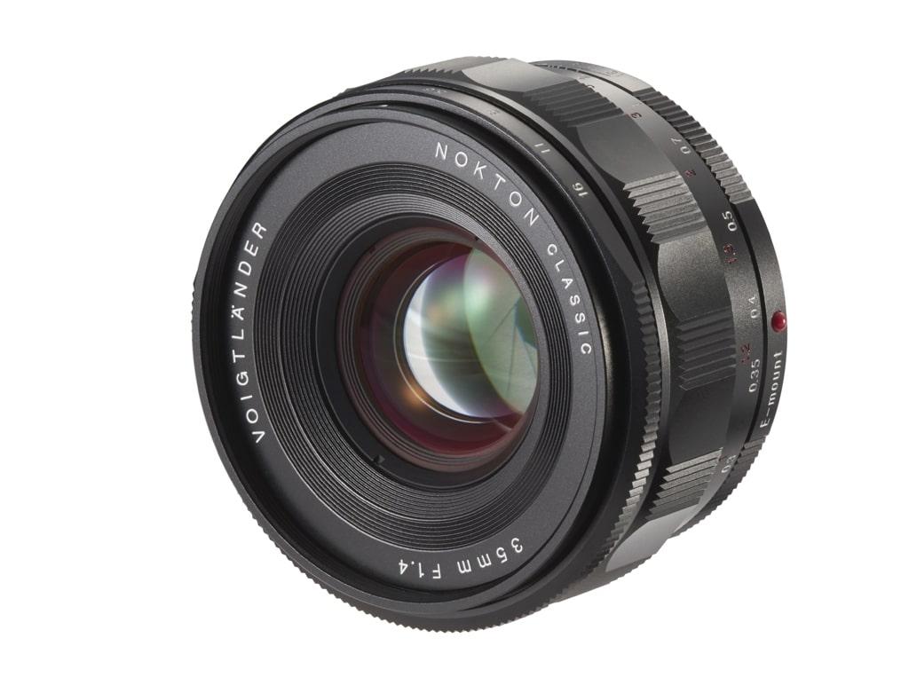 Voigtländer Sony E Mount 35mm 1,4 Nokton Classic schwarz