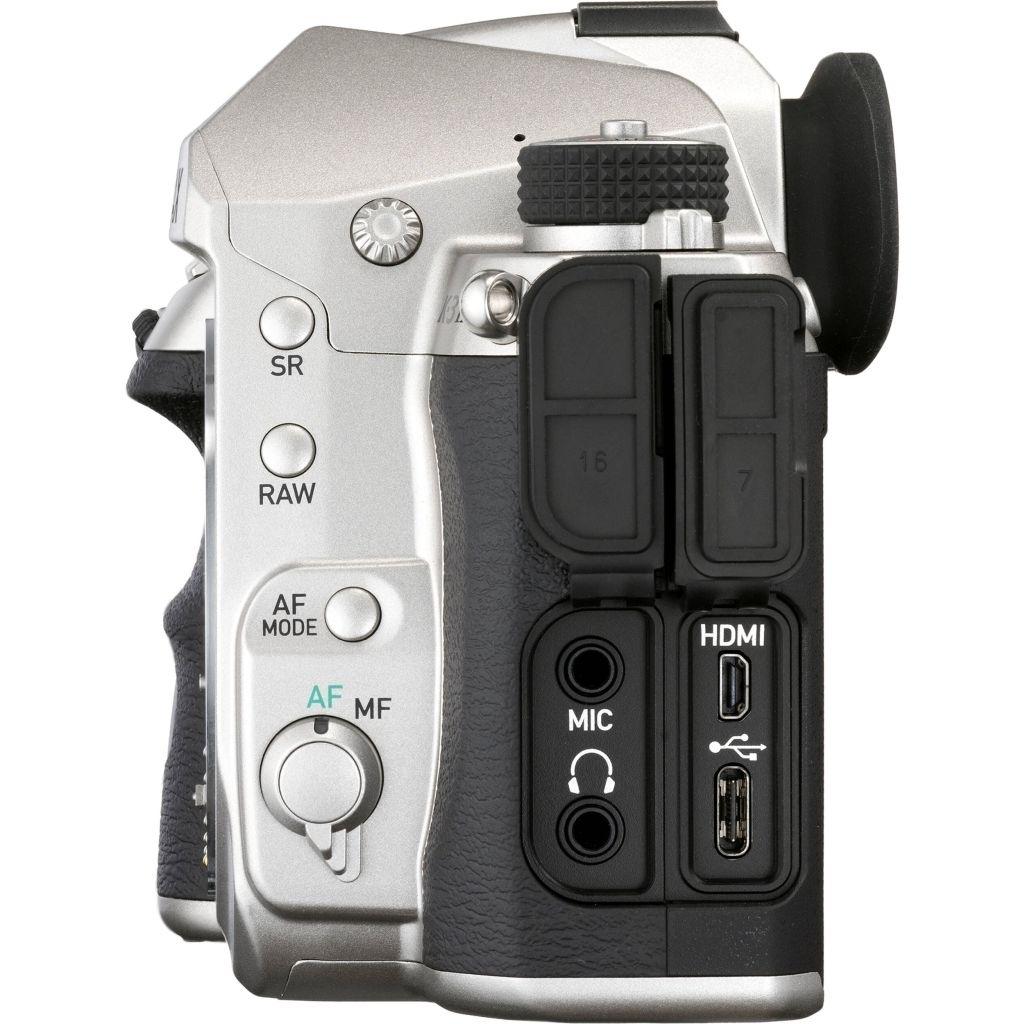 Pentax K-3 Mark III silber Premium Kit