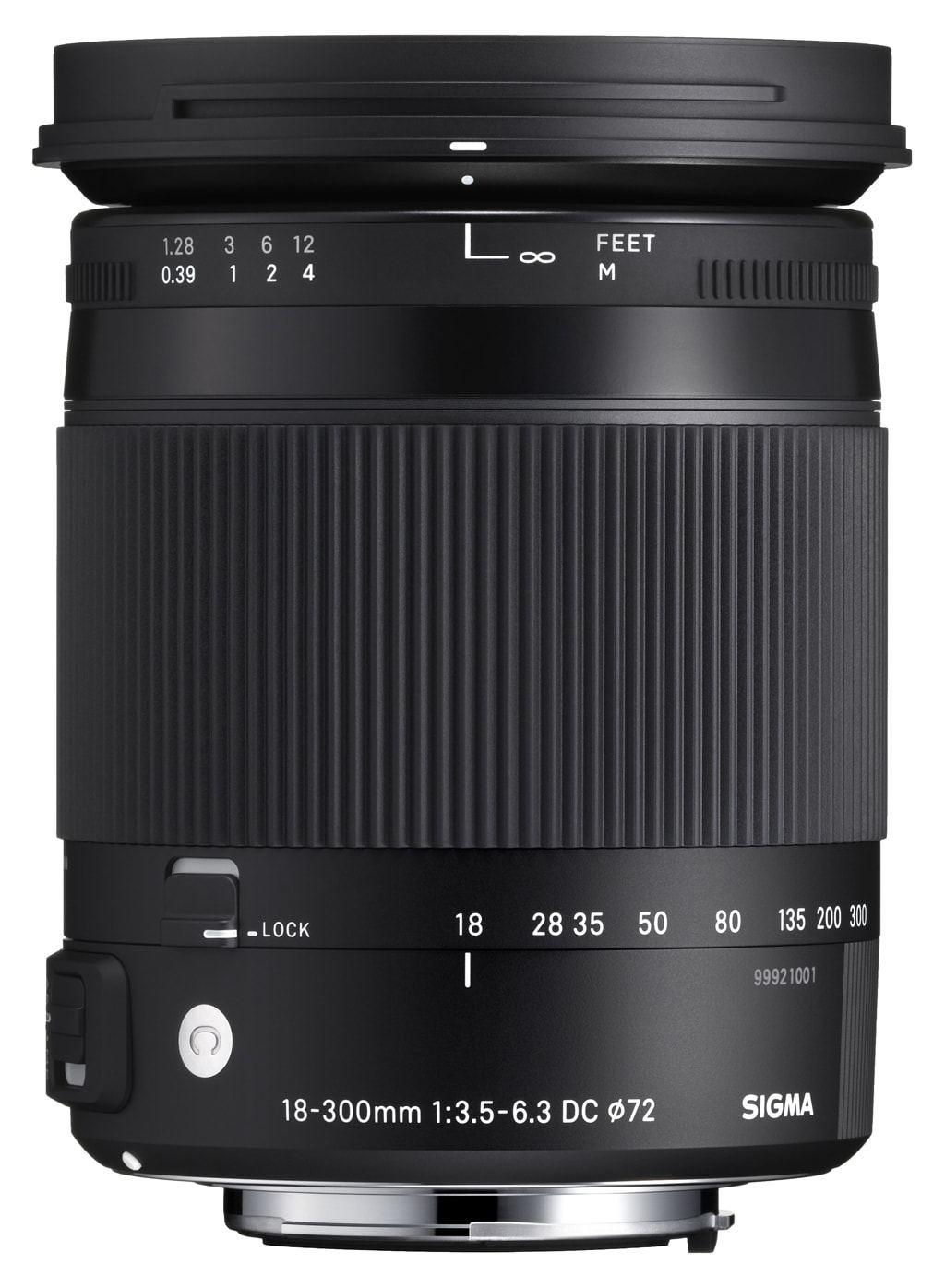 Sigma 18-300mm 1:3,5-6,3 DC Macro OS Contemporary für Canon EF