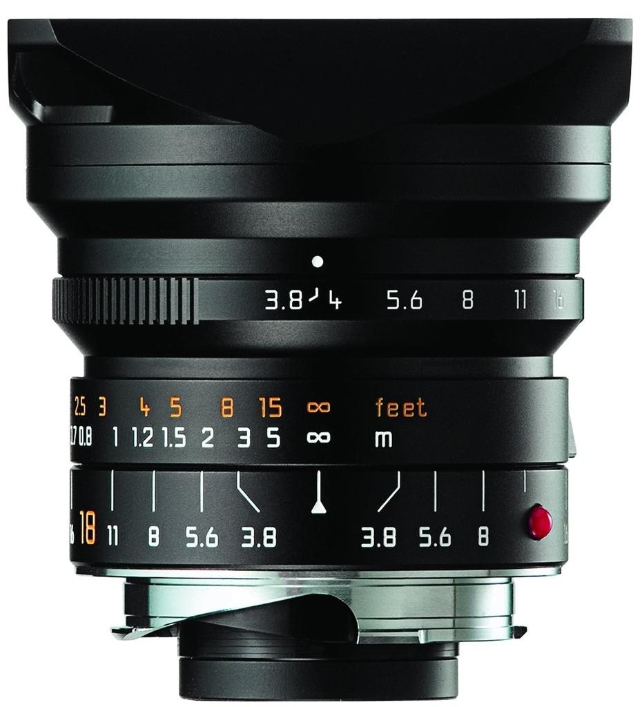 LEICA SUPER-ELMAR-M 3.8/18 mm ASPH. schwarz eloxiert 11649