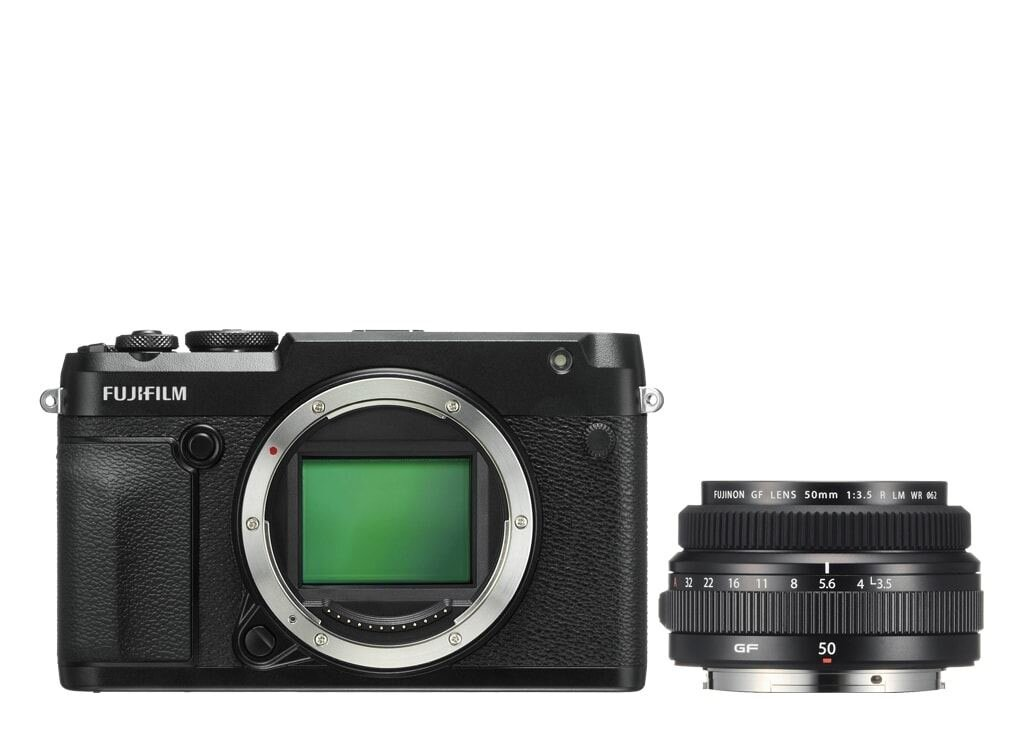 Fujifilm GFX 50R + GF 50mm 1:3,5 R LM WR