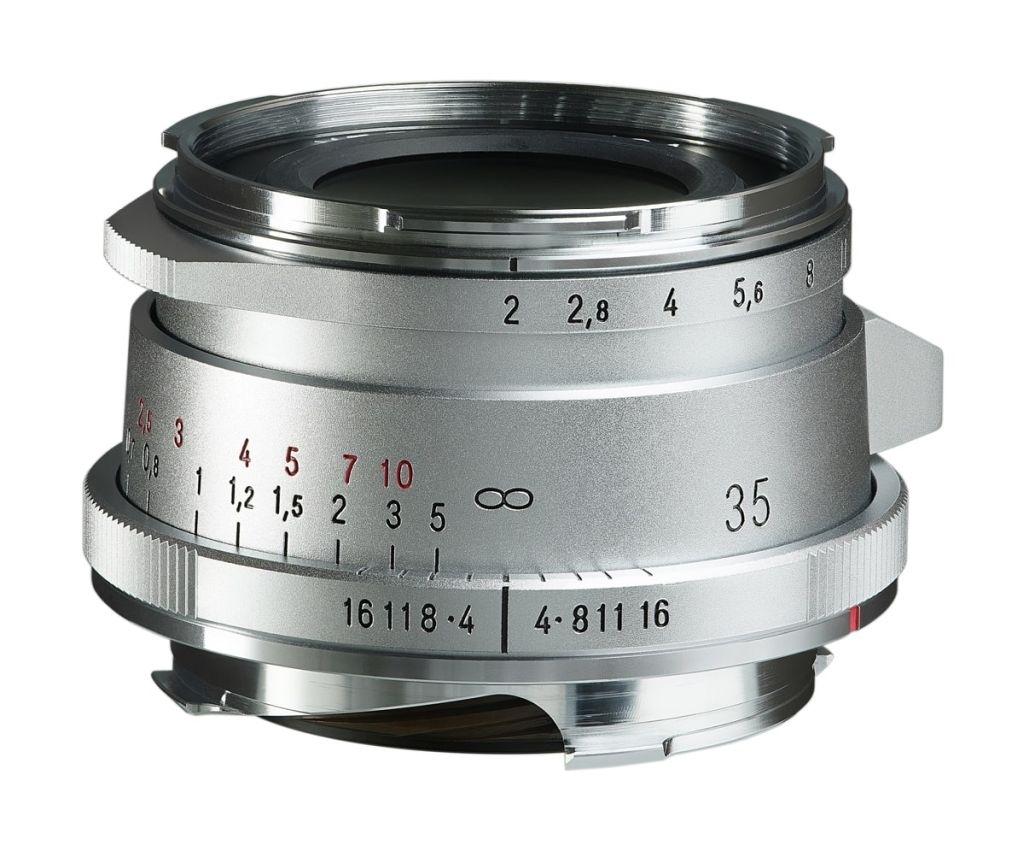Voigtländer VM 35mm 1:2,0 Ultron asph. II silber