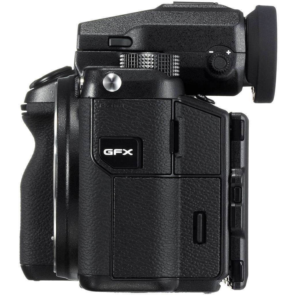 Fujifilm GFX 50S + GF 250 mm 1:4 R LM OIS WR