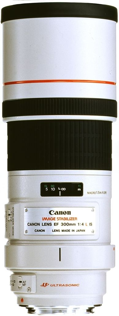 Canon EF 300mm 1:4L IS USM