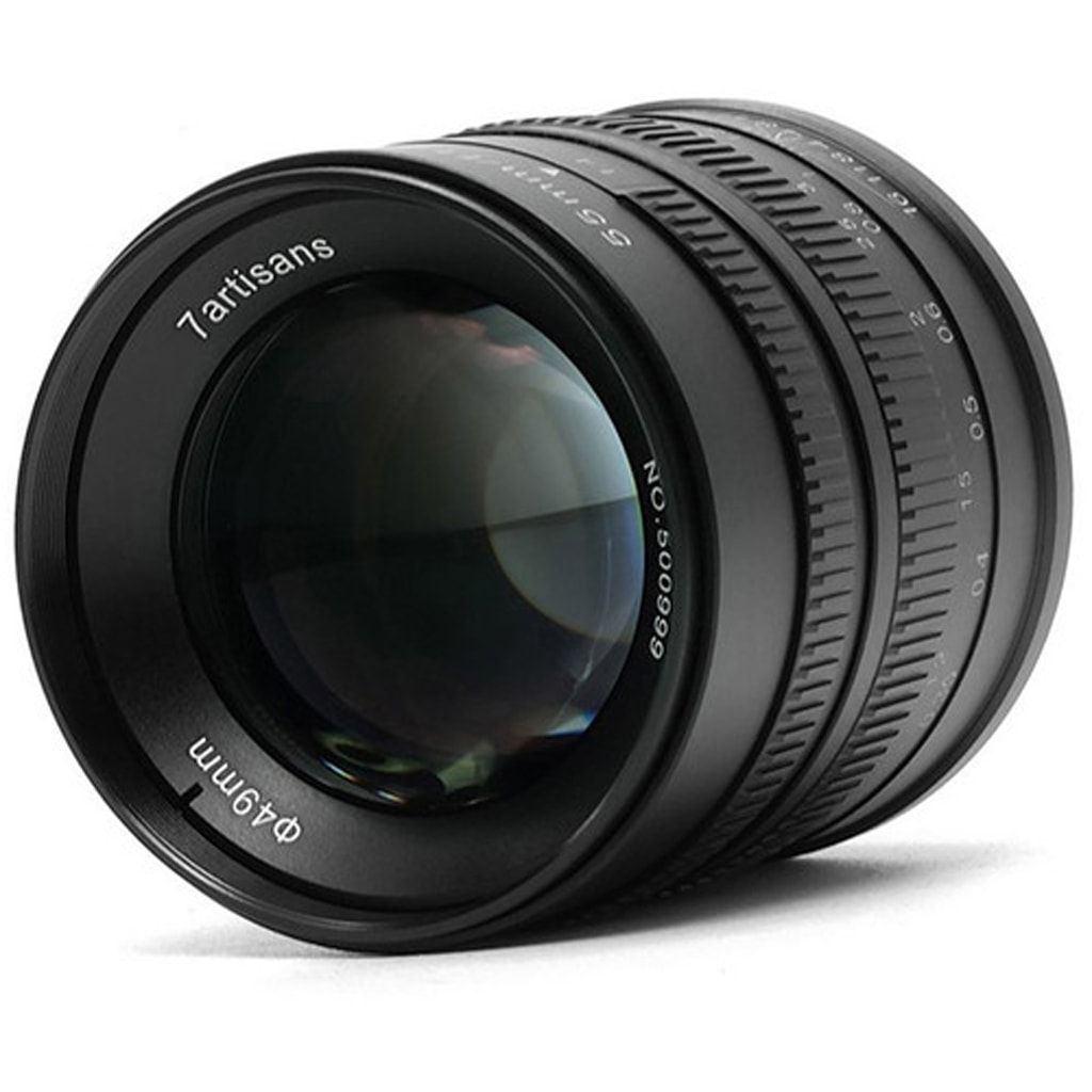 7Artisans 55mm 1:1,4 für Fuji X schwarz