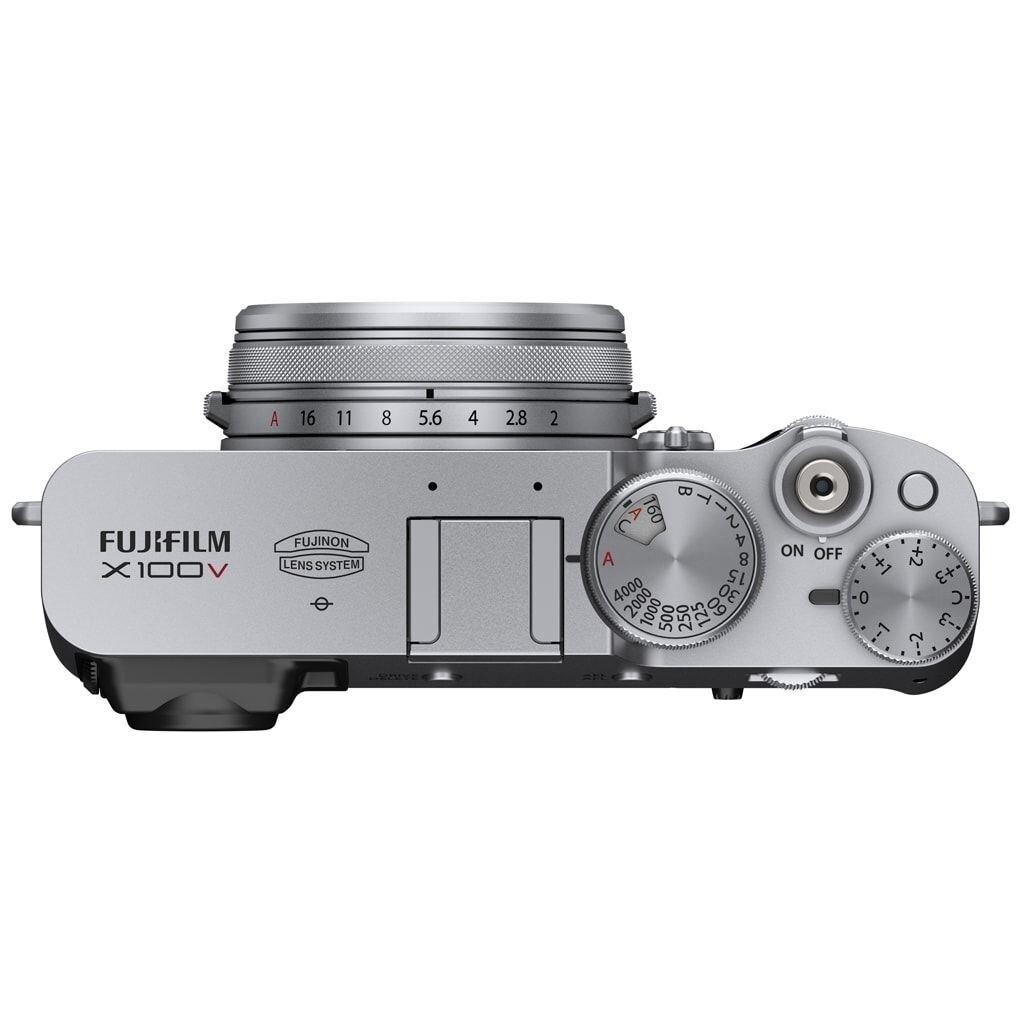 Fujifilm X100V silber + Weather-Resistant Kit X100V