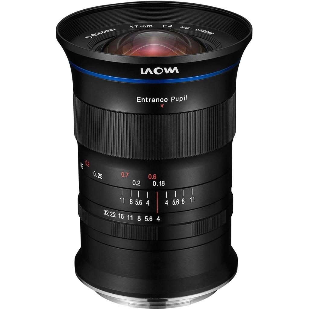 LAOWA 17mm 1:4 Zero-D für Fujifilm GFX