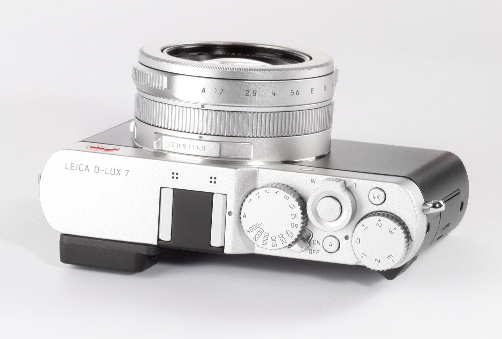 LEICA D-LUX 7 silber eloxiert 19115