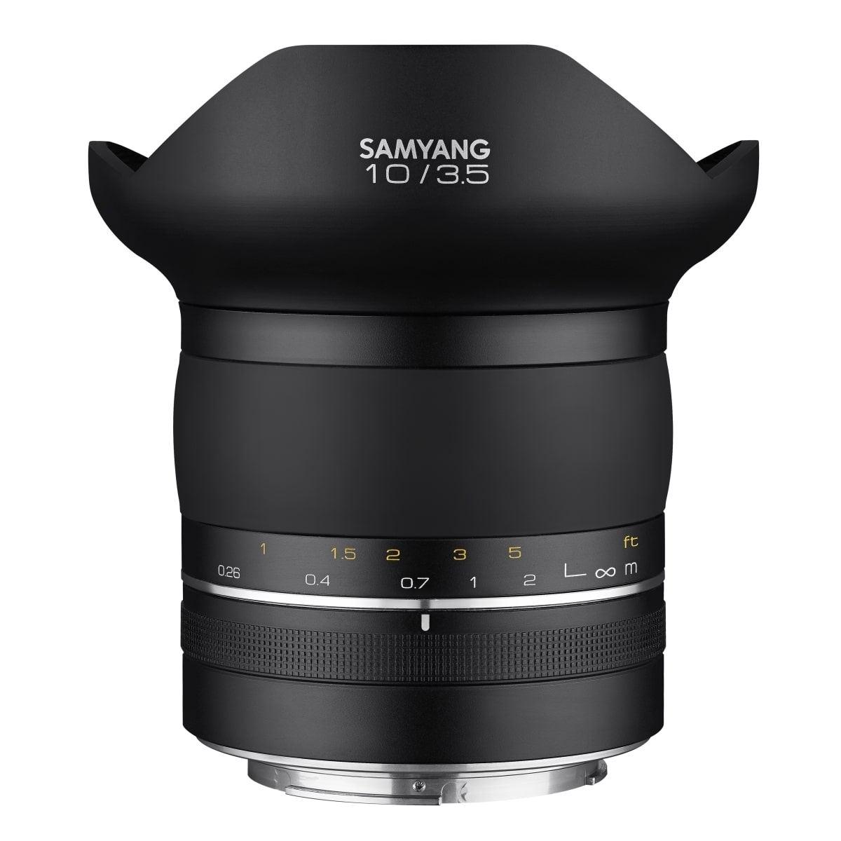 Samyang XP 10mm 1:3,5 für Nikon F