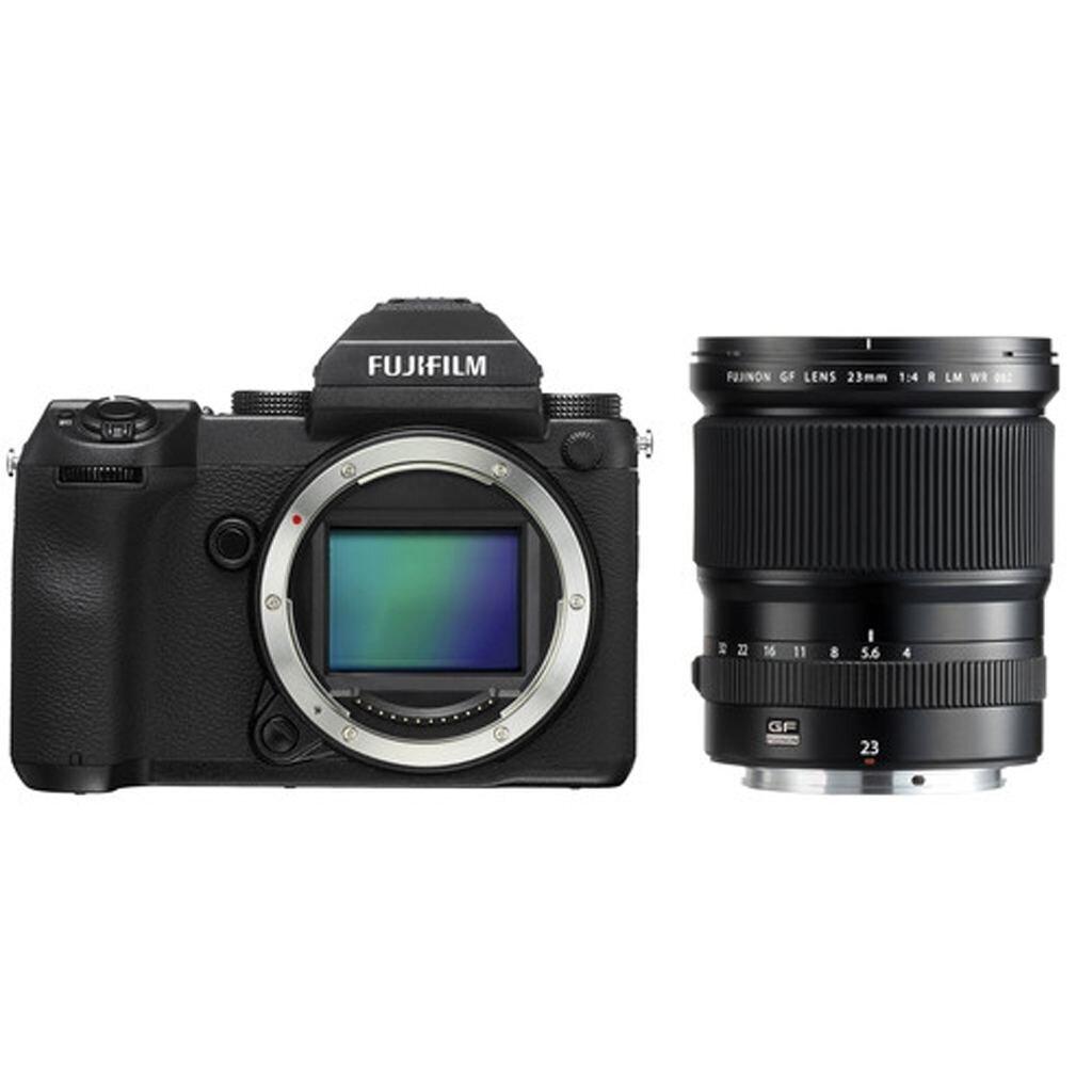 Fujifilm GFX 50S + GF 23 mm 1:4 R LM WR