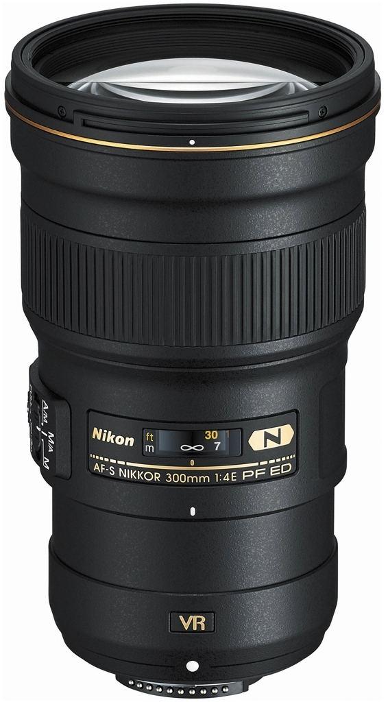 Nikon AF-S 300mm 1:4,0 E PF ED VR + Nikon 5-Jahre-Garantie-Aktion