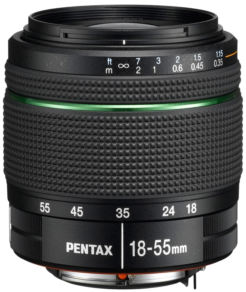 Pentax DA 18-55 mm 1:3,5-5,6 AL WR aus Set